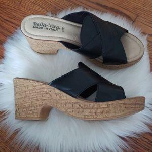 - Bella vita Women's Lor-Italy Slide Sandal S